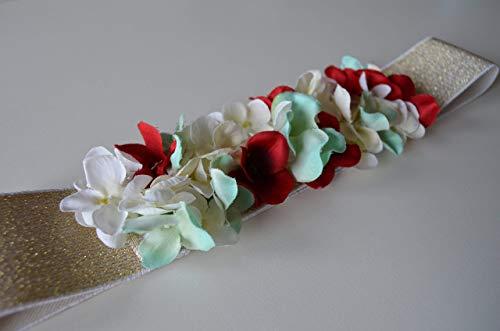 Cinturón de flores Emma