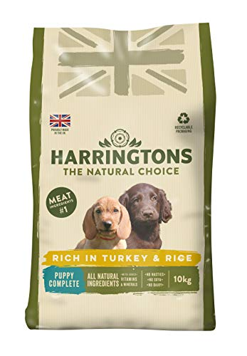 Harringtons Puppy Food Complete Rich In Turkey and Rice. 10 Kg