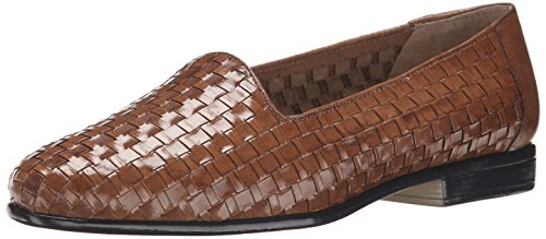 Trotters womens Liz loafers shoes, Brown, 8.5 Narrow US