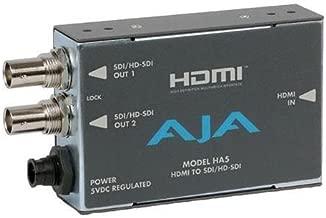 AJA HA5 HDMI to SD/HD-SDI Video and Audio Converter (Renewed)