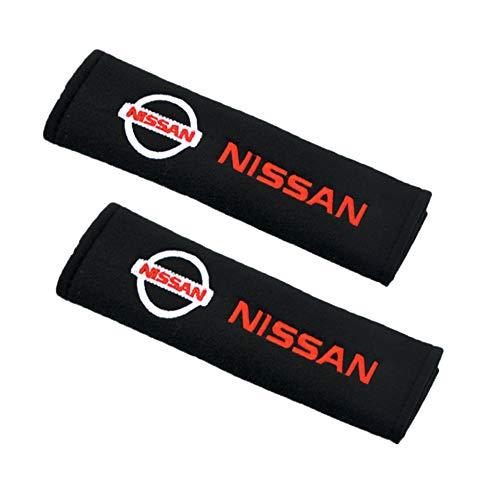 Heycase 2Pack Auto Gurtpolster Sicherheitsgurt Gurtschutz, Weiche Baumwolle Schulterpolster Gurtschutz für erwachsene Jugendliche (für Niss-an)
