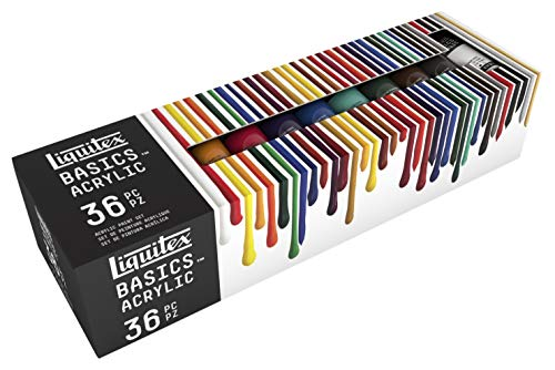 Our #2 Pick is the Liquitex BASICS 48 Tube Acrylic Paint Set