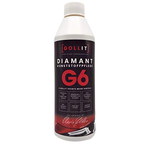 GOLLIT Diamant 500ml Kunststoffpflege für innen und aussen. NEUES DESIGN