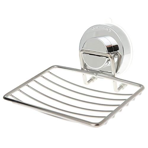 More and more Zeepbakjes Stainless Steel sterke zuigkracht Badkamer zeephouder Douche zeepbakje houder douchebak badkamer accessoires
