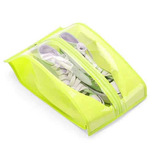 RCYPAA123 Bolsas de Zapatos de Viaje 2 Pack Portátil Impermeable Zapatos Almacenamiento...