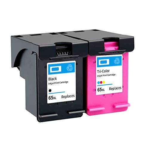 YJSA Compatible 65XL Cartucho de Tinta, Alto Volumen de Impresión Reemplazo,para HP AMP100 120 125...