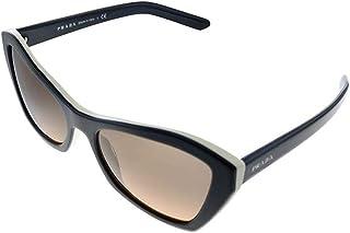 Prada PR07XS 5460AO Top Black/Ivory Millennials Butterfly Sunglasses Lens Cat