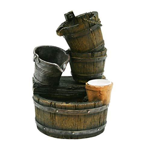Ubbink Acqua Arte Ensemble pot de fontaine Halifax Cascade de jardin Jeu d'eau