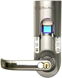 iTouchless Bio-Matic Fingerprint Door Lock, Left Handle, Silver