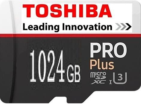 東芝 高速1024GB(1TB)マイクロSD メモリーカード+USBカードリーダーセット