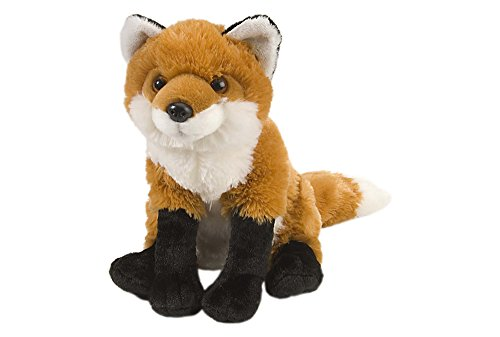 Wild Republic Red Fox Plush, Stuffed Animal, Plush Toy, Gifts For Kids, Cuddlekins 12 Inches