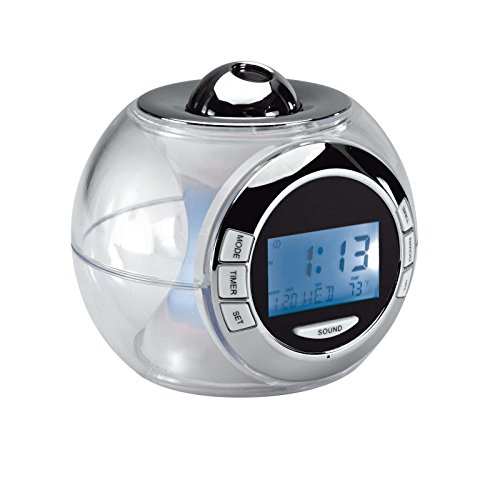 Clip Sonic Technology - Reloj despertador de luces de colores cambiantes RV141