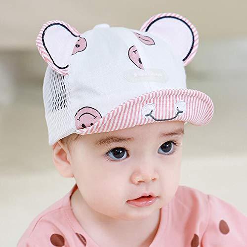 JIAYUAN Sombreros Sombrero de protección a los niños con la Cubierta de la Cara de la Infancia, TPU Cubierta a Prueba de Polvo a Prueba de Viento Protección Mascarilla Aislamiento Anti UV Cap Sun por