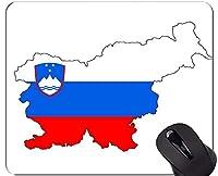 マウスパッドの滑り止め、スロベニアテーマステッチエッジのマウスパッド