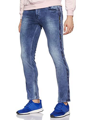 Spykar Men's Skinny Fit Jeans (MPRM-02AI-087_Blue_32)