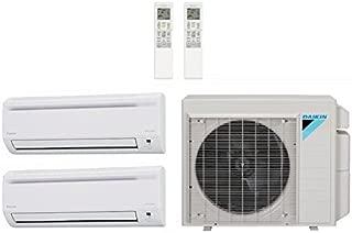 Daikin 18,000 Btu 18.9 Seer Multi Zone Mini Split Heat Pump System (AC and Heat) - 9K-9K