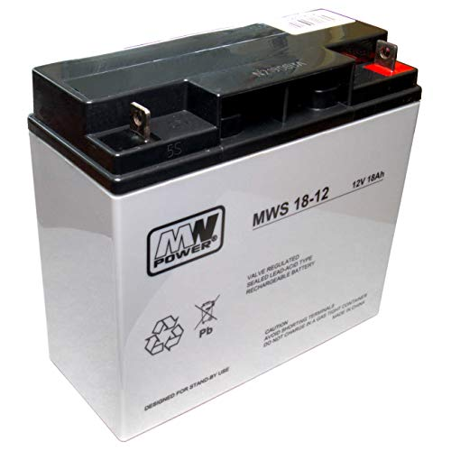 MWPower MWS 18-12 ersetzt Q-BATTERIES 12LS-17, 12LS-18, CTM VT18-12HR