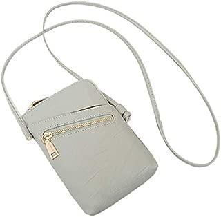TOOGOO Simple Handbag PU Leather Messenger Bag Ladies Shoulder Bag Purse Clutch Bag Wallet Card Bag Black