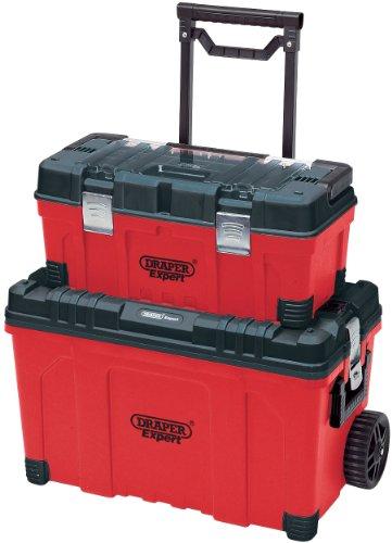 Draper Expert 03080 Double boîte à outils sur roulettes