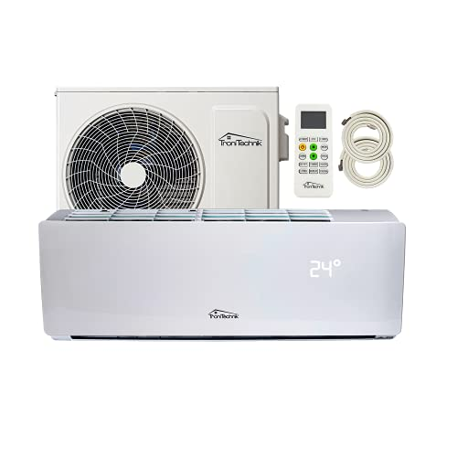 Tronitechnik Reykir Split Klimaanlage Inverter Splitgerät mit UVC...