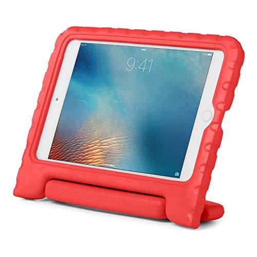 Brand.it iPad Hülle Kinder Learn.it TÜV GS geprüft stossfest & robust aus Schaumstoff - perfekt für Schule & Unterricht - Passend für iPad 9.7 Kinderschutzhülle rot