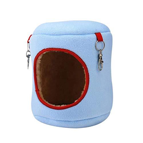 ESjasnyfall hangmat voor de winter, warm katoen, voor de winter, blauw