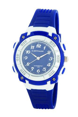 Dunlop Reloj Analógico para Mujer de Cuarzo con Correa en Caucho DUN243L03