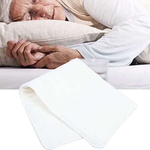 Pañal de bolsillo para adultos, 4 capas, paño transpirable absorbente lavable para adultos mayores, forro para pañales, almohadilla para insertar, bolsillo para adultos, cubierta para pañales(1)