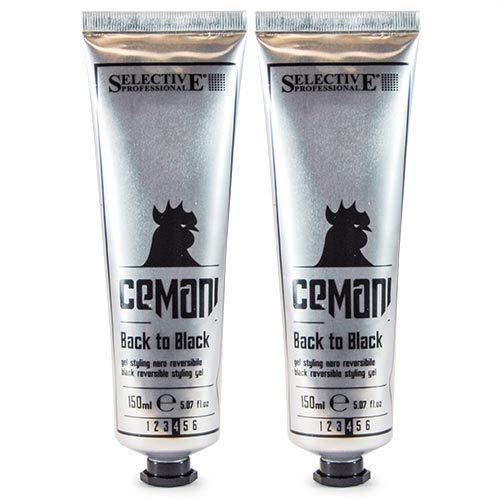 Selective Professional Cemani Back to Black Reversible StylingGel 2x150ml Limitierte Edition