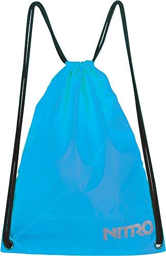 Nitro Uni Turnbeutel Sports Sack, Blau (Acid Azul), 45 centimeters