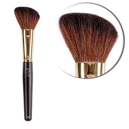 Rougepinsel Professional Makeup – B5 vegan Quality langlebige Synthetische Haar Fasern Blusher Brush – Perfekt zum einfachen Auftragen von Mineral Rouge Puder mit optimalen Resultaten