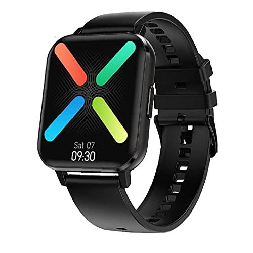 Pulsera Smart Test Banda De Reloj Inteligente Sraeriot Rastreador De Ejercicios Dtx Ritmo Cardíaco Smartwatch Deportes Hombres Mujeres Negro