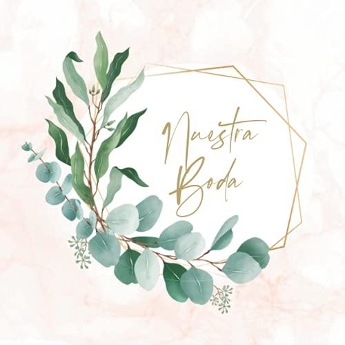 Libro de firmas boda: Libro de invitados personalizado para dejar recuerdos a...