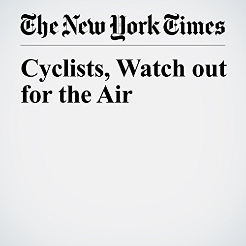 Cyclists, Watch out for the Air copertina