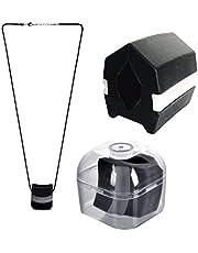 Jaw Exerciser Tugg, Nacktoning Utrustning Jawline Fitness Ball Kaw Träningsverktyg Käkton Definiera Ansiktstoner Käke med hängande rep och förvaringslåda (3 färger)