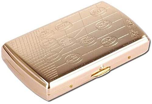Suytan Caja de Cigarrillos 12 Piezas de Porta Cigarrillos, C
