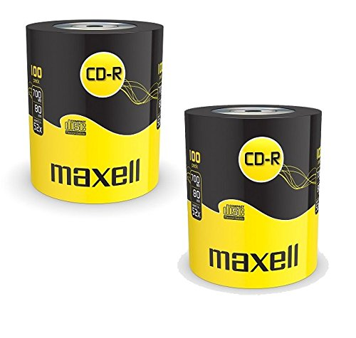 Maxell - CD-R 52x, CD registrabili, 700 MB, Extra Protection