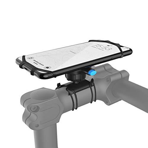 Wigoo Montaje de la manija de la Motocicleta del Soporte del teléfono móvil de la Bici para iPhone X/XS/XS MAX/XR/iPhone 6/7/8/8Plus, Galaxy S8 / S8 Plus / S7 Edge, Google Pixel Adecuado para Carrito