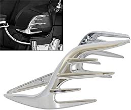 HANEU Para Goldwing GL1800 2001-2011 accesorios de la motocicleta 2 piezas carenado rejillas cromo decoraci/ón DDD203