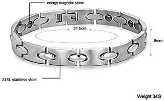سوار الطاقة الطبي بحجر الجرمانيوم للتخلص من الشحنات الكهربائية في الجسم والتوازن للرجال