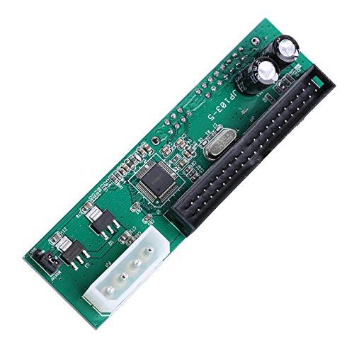 Adaptador convertidor, Paralelo Ata Pata IDE a Sata Serial Ata El convertidor de Adaptador de Disco Duro es Adecuado para PC y Mac Plug-and-Play, Intercambiable en Caliente sin Controlador