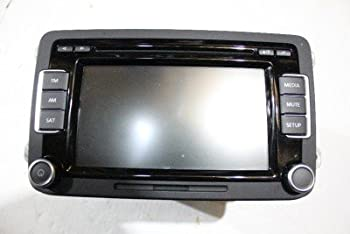 VW Volkswagen RCD-510 Radio Stereo 6 Disc Changer MP3 CD Player Touch Screen  E.C.A.P