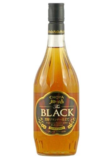 チョーヤ 梅酒 The BLACK (ザ ブラック) 720ml JP
