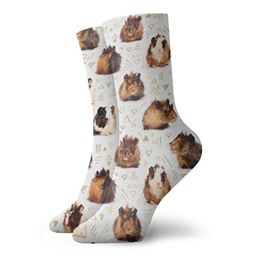 Meerschweinchen Kleid Socken Lustige Socken Crazy Socks Casual Socken für Mädchen Jungen