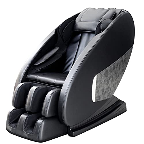 Massage Chair, Full Body Massage Chairs Zero Gravity Massage Chair Recliner with Airbags Massage, Low Back Heating, Hip Vibration, Foot Massage Therapy and Bluetooth Speaker,Black