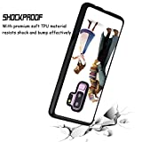 Glossy Corner Phone Shell Case Compatible with Galaxy S9 Plus (2018) (6.2 Version) The Beauty Who Reads and The Beast Who Holds The Book