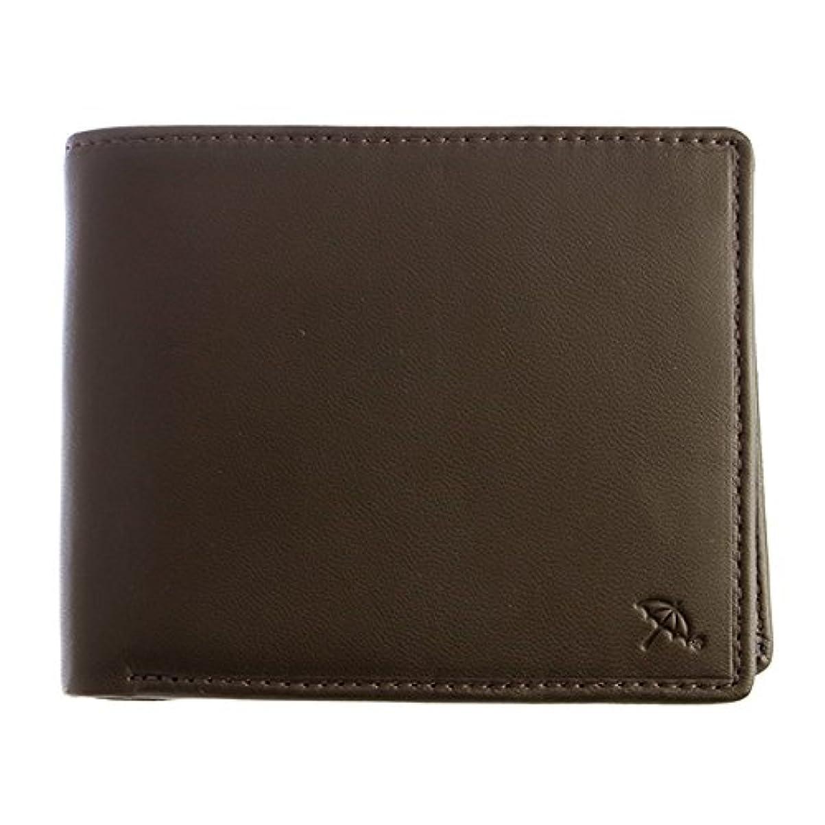 巻き取り年金八アーノルドパーマー ARNOLD PALMER 二つ折り財布 短財布 ユニセックス 4AP3204-CC チョコ
