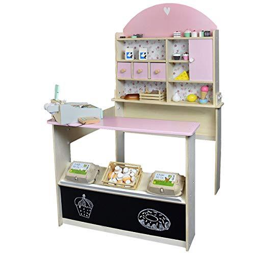 Roba Kaufladen Rosa aus Holz - Kaufmannsladen für Kinder