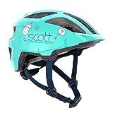Scott Spunto 2021 - Casco de bicicleta infantil (talla 46-52 cm), color verde