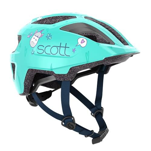 Scott Spunto Kinder Fahrrad Helm Gr.46-52cm grün 2021
